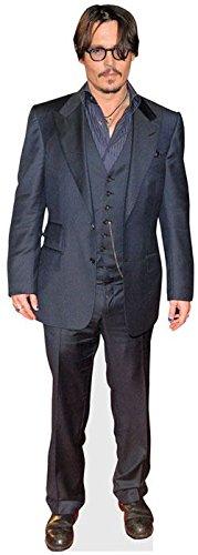 Johnny Depp (Black Jacket) Mini Cutout