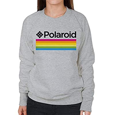 Women's Gray Polaroid Sweatshirt, Officially Licensed, S to XXL
