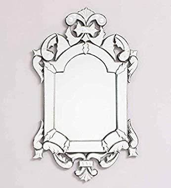 QUALITY MIRRORS Jade Wall Mirror (30 x 18)