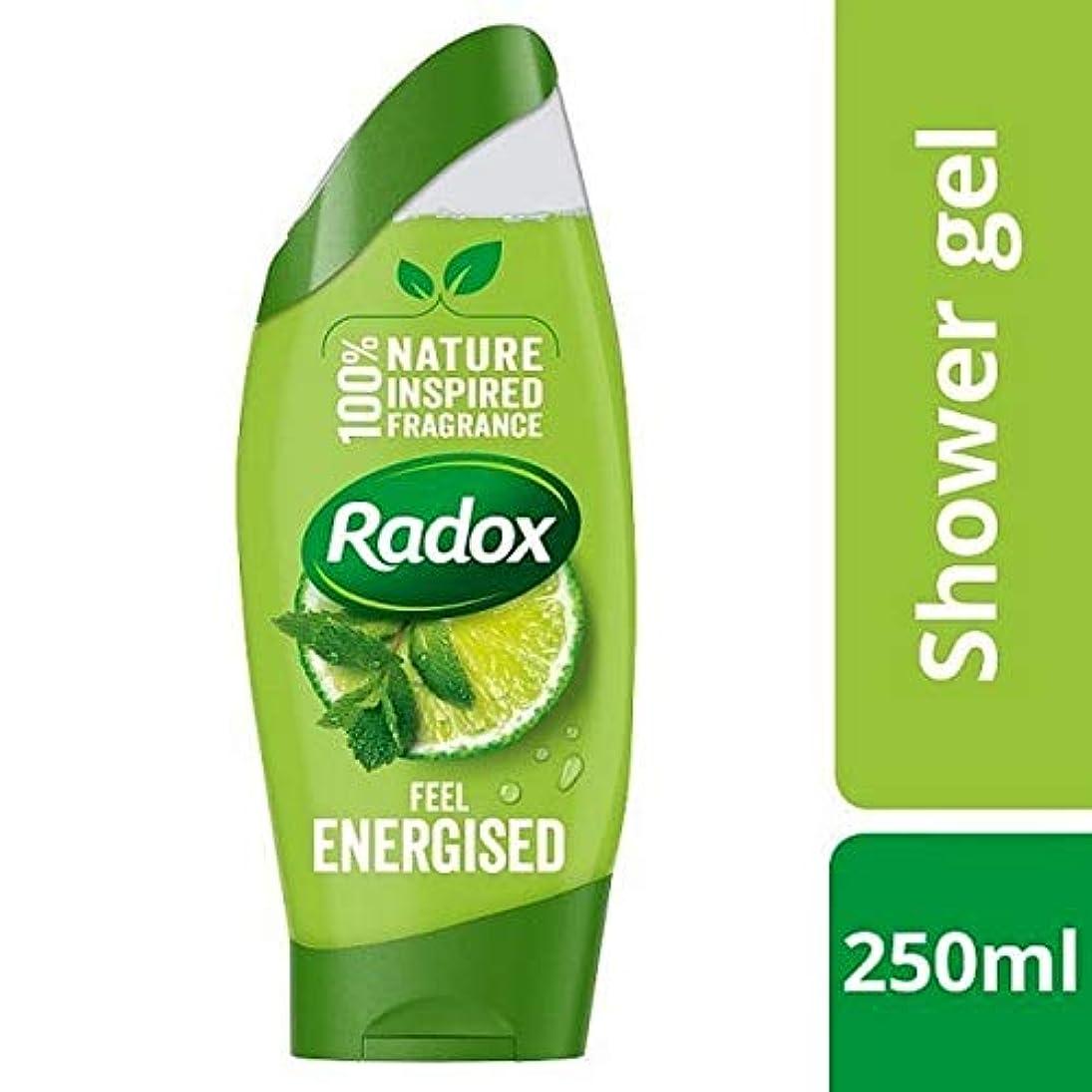 農業くちばし全体に[Radox] Radoxは通電シャワージェル250ミリリットルを感じます - Radox Feel Energised Shower Gel 250ml [並行輸入品]