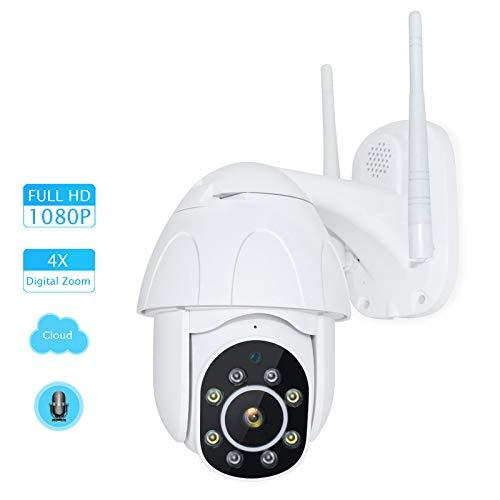 WQYRLJ 1080P IP Camera 4X Zoom Snelheid Draadloze Camera Cloud Opslag Wifi Beveiligingscamera voor Outdoor Thuis Huisdier/Oudere/Baby Monitor