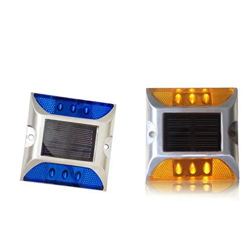 H HILABEE 2 Piezas De Energía Solar LED Lámpara Light Path