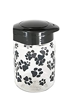 Lixit Treat Jars for Dogs  64oz Grey