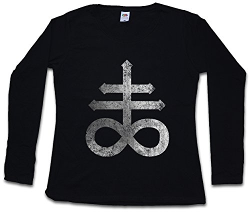 Urban Backwoods Leviathan Cross Women T-Shirt Mujer Camiseta de Manga Larga