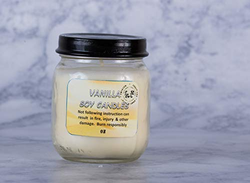 Twisted Creations Home & Bath Vanilla Soy Candle