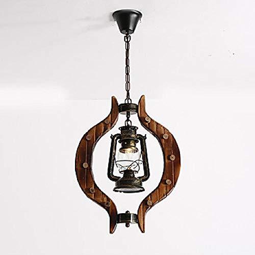 Hanglampen, hanglampen, plafondlamp, hanglamp, hanglamp, antiek, pendant, licht, hout, instelbaar, lantaarn, sfeerlicht, geschilderd finishes, helder glas, schaduw, dining room, hanglampjes
