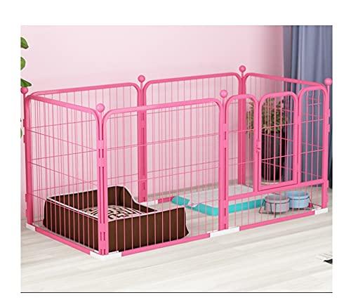 jaula perro Pet cajas de perro Valla Valla cubierta Grande Medio Pequeño...