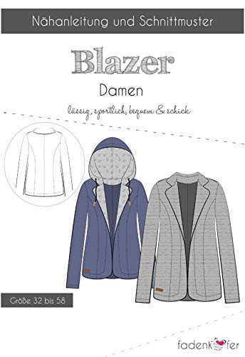 Knippatroon en naai-instructies - Dames Blazer