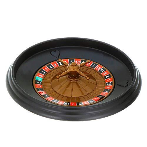 CXD Roulette Tisch Erwachsene Kinderverlosung Plattenspieler,Plattenspieler Roulette Set Spaß Freizeit Unterhaltung Tischspiele,1