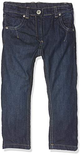 Steiff Mädchen Hose Jeans, Blau (Dark Blue Denim Blue 0012), 74 (Herstellergröße:074)