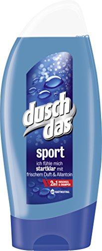 Preisvergleich Produktbild Duschdas Duschgel,  für einen aktiven Tag mit sportlich-frischem Duft,  250 ml,  1 Stück