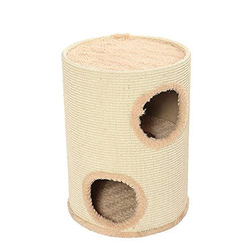 TOMSSL Kreative Mode Haustier Katze Spielzeug Katze Klettergerüst Spalt Sisal Katzenkratz Katze Klettergerüst Streu Kratzbaum (35 * 50cm)
