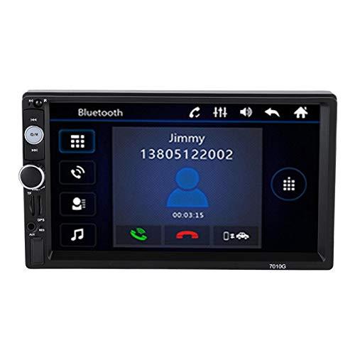 FOLOSAFENAR HD de 7 Pulgadas, Doble DIN, estéreo para automóvil, GPS, Doble DIN, para Usted Cuando Conduce en Cualquier Lugar, en Cualquier Momento, para Android, para automóviles