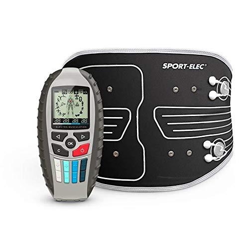 Sport-Elec Multisport Pro Precision MaxIBELT - Electroestimulador para Adulto, Unisex, Negro, Azul, Talla única