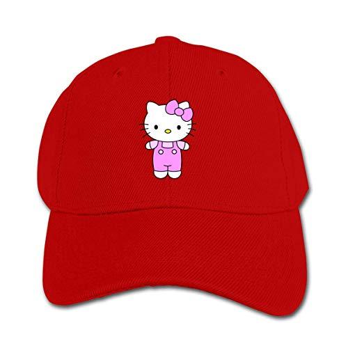 Gorra de Beisbol Hello Kitty Strap Dress Gorra de béisbol para niños y niñas