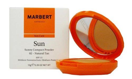 Marbert Sonnenpflege Sun Care Compact Powder Nr. 02 Natural tan 1 Stk.