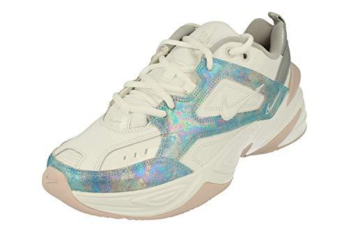 Nike Zapatillas de running para hombre, (Summit White/Barely Rose/Metallic Silver/Summit White), 36.5 EU