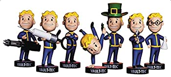 Fallout Vault Boy 111 Bobbleheads Vault-Tec Complete Series 3 -Agiility Arms Crossed Big Guns Luck Medicine Science & Small Guns