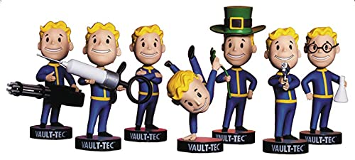Fallout Vault Boy 111 Bobbleheads Vault-Tec Complete Series 3 -Agiility, Arms Crossed, Big Guns, Luck, Medicine, Science & Small Guns