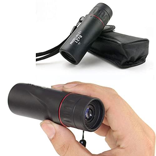 Telescopio de telfono monocular de bolsillo 4k con soporte para telfono inteligente Prismticos porttiles ultraligeros y compactos con visin nocturna Monoculares para adultos Observacin de aves