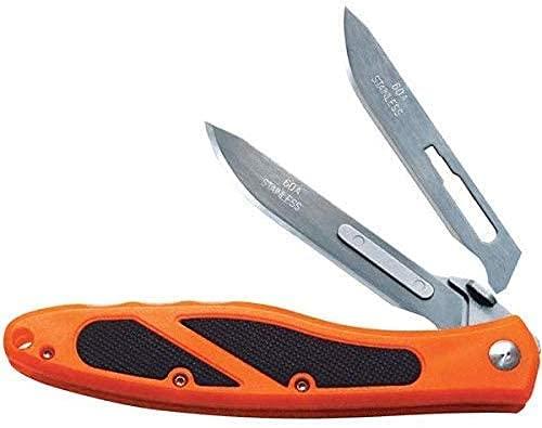 Havalon Piranta-Edge Blaze Orange Handle 12 Additional Crazy Sharp Blades
