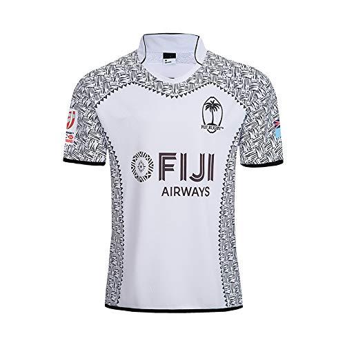 Aitry Camiseta de Rugby, Camiseta de Entrenamiento Local y visitante de Fiji, Camiseta del Equipo de la Copa Mundial
