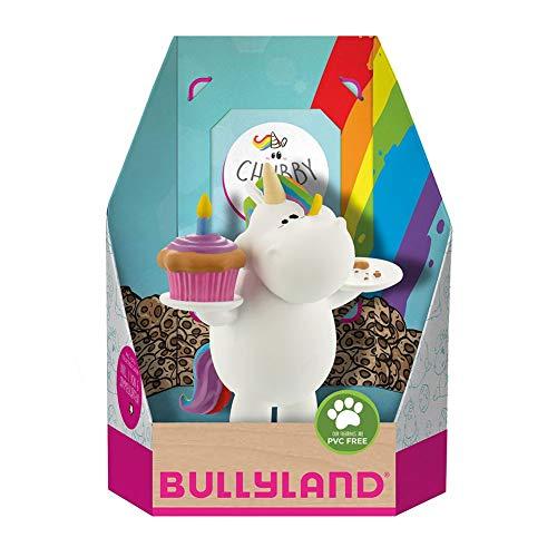 Pummeleinhorn Sammelfigur - Mit Cupcake (mit Sammelkarte)