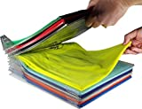 tempo di saldi sistema salvaspazio pieghevole per armadio cassetti t-shirt camicie 20 pezzi