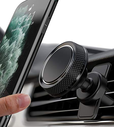 itaomi Magnetic Car Phone Mount, Phone Car Mount Magnet Air Vent Mount 360° Rotation Car Phone Holder for Car Fit for iPhone 11 Pro Max Xs Max XR X 8 Plus 7 Plus 6 Samsung Galaxy S10 S10+ S10e S9, GPS
