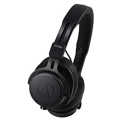 Audio-Technica ATH-M60X cuffia Intraurale Padiglione auricolare Nero