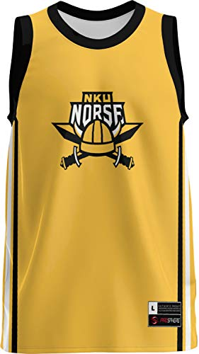 ProSphere Northern Kentucky University Men's Basketball Jersey (Classic) 3F0FA809 Gold and Black