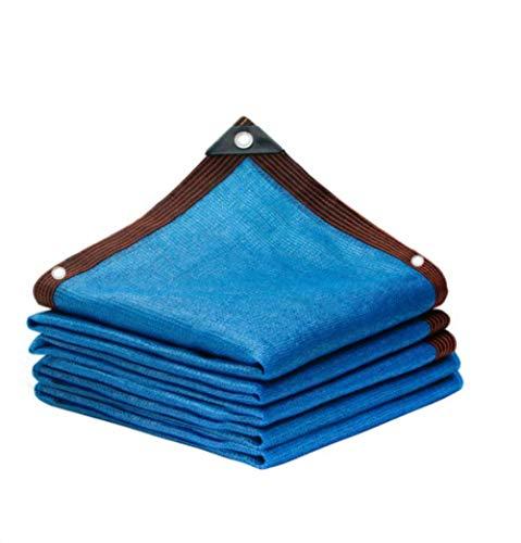 ALWUDI Azul Malla Resistente De ProteccióN Solar, Lona de la Sombra con Ojales, Techo de jardín, balcón, Aislamiento térmico de automóviles 85% Bloqueo UV Velas de Sombra,4x5m