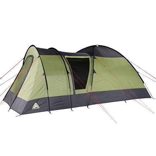 10T Zelt Mailand 4 Mann Kuppelzelt wasserdichtes Familienzelt 5000mm Campingzelt mit 8,6 qm Kabine