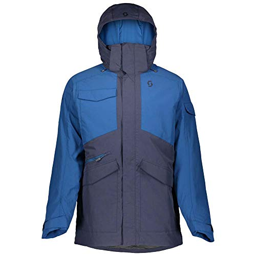 Scott M Ultimate Dryo Jacket Blau, Herren Thinsulate™ Regenjacke, Größe L - Farbe Blue Nights - Blue Sapphire