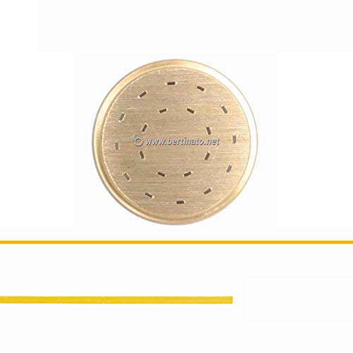 Trafila in bronzo per Pasta Tagliolini per macchina pasta fresca professionale La Fattorina 1,5kg compatibile con FIMAR MPF 1,5