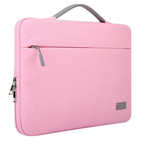 MOCA kinmac Canvas Bag Sleeve for 13 13.3 inch Apple MacBook Air Pro Retina 13 13.3 inch a1466 a1369 a1502 MacBook 13 13.3 inch Sleeve Bag Cover (Pink, 13.3 inch MacBook/Laptops)