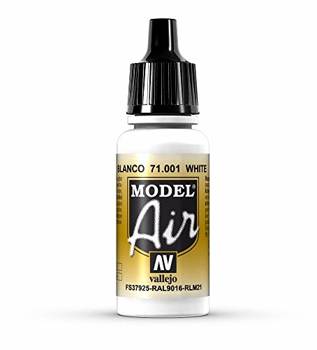 Vallejo Model Air Acrylfarbe, 17 ml weiß