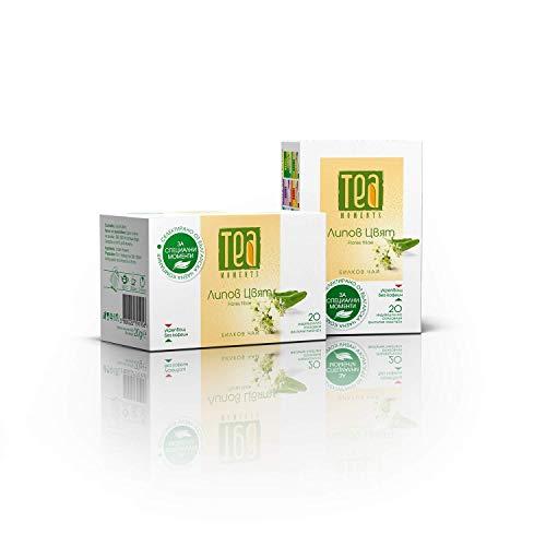 Tila Té Infusión 30g | Tilia cordata Flor de Tilo Tea Moments Linden Tea Linden Flower Té En Bolsas Kuker