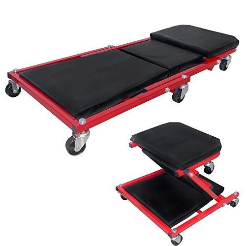 ZDY BOX 2 in 1 werkplaats werkplaats kruk werkplaats bank montage riem 360° wiel tot 150 kg