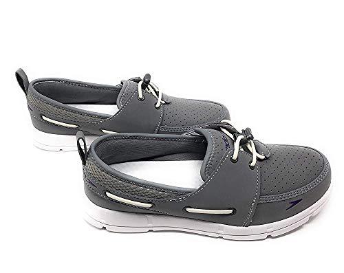 Speedo. Womens Port Lightweight Breathable Water Shoe (10, Grey)