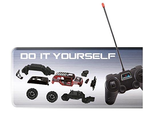 Revell Control 24710 - Technik RC Car als Bausatz mit 27 MHz Fernsteuerung - Ferngesteuerter Offroader zum Selberbauen, einfach zu montieren, mit großen & Griffigen Reifen - RC Kit Dakar