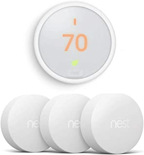 Nest T4000ES Learning Thermostat E (White) Temperature Sensor 3 Pack (T5001SF)