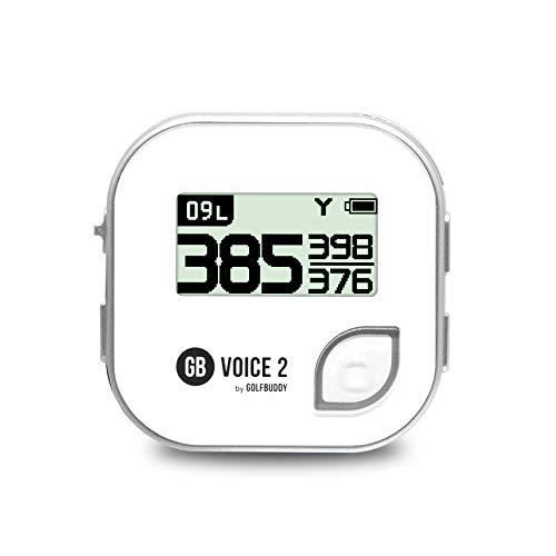 GolfBuddy Voice2 Système GPS de Golf Unisexe Argenté...