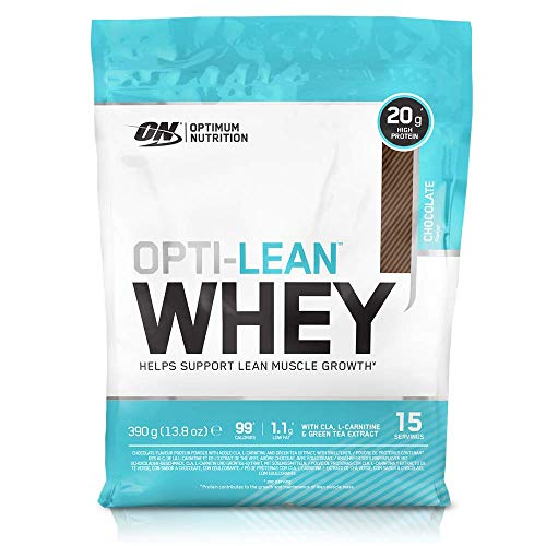 Optimum Nutrition Opti-Lean Whey Proteína con Chocolate - 405 gr