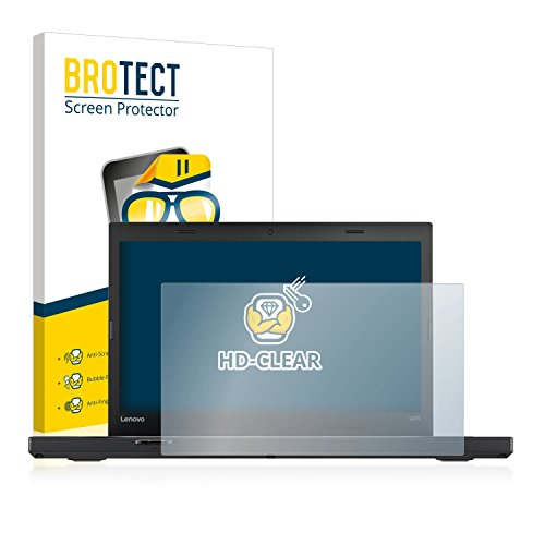 BROTECT Schutzfolie kompatibel mit Lenovo ThinkPad L470 klare Bildschirmschutz-Folie