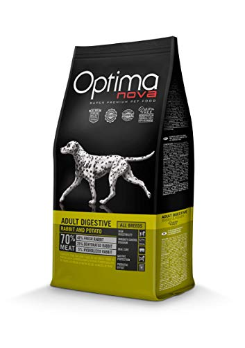 Optima nova Adult All Breeds Digestive Rabbit & Potato Grain Free 12000 g