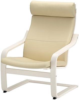 Amazon.com: IKEA 698.305.95 poang Armchair edium Brown, xx ...