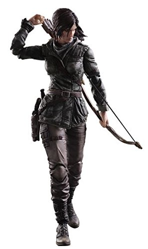 Play Arts Kai Rise of the Tomb Raider Lara Croft Scale Complete Action Figure Model Crystal Dynamics Eidos Interactive Square EnixSquareEnix
