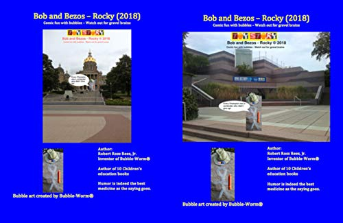 Bob and Bezos - Rocky: Comic fun with bubbles - Watch out for gravel brains (English Edition)