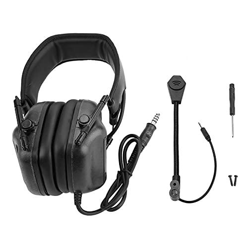 FOLOSAFENAR Auriculares con micrófono Tamaño Ajustable y Peso Ligero Flexible para ajustarse...